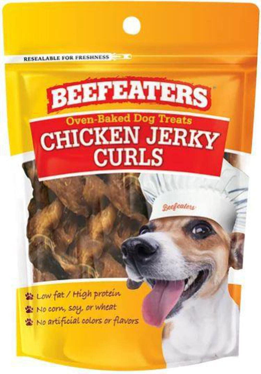 Max 76% OFF Beefeaters Jerky Curl Chicken - 22oz Dog Treats Financial sales sale