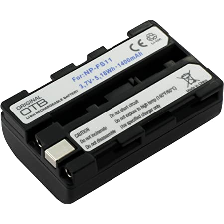 Otb Akku Für Sony Np Bk1 Li Ion Schwarz Kamera