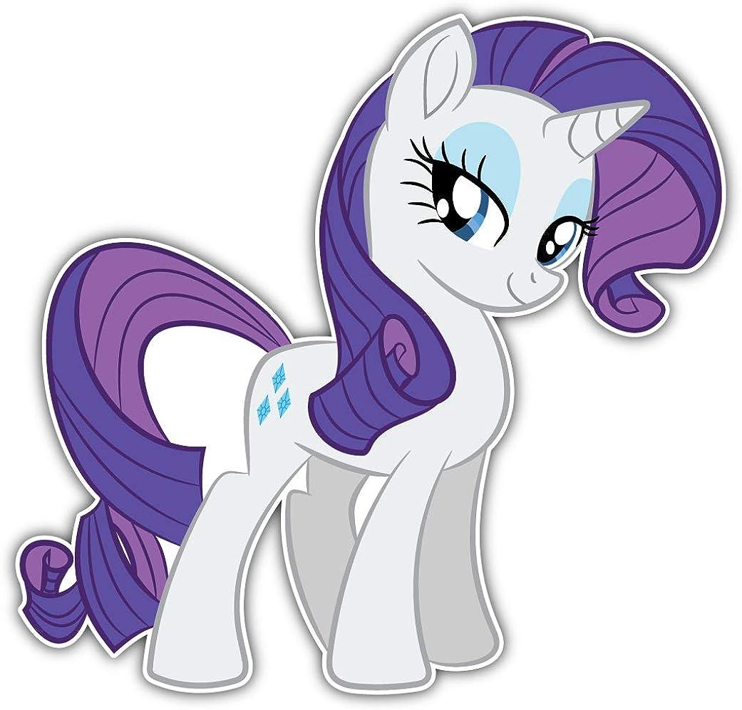 valstick My Little Pony Rarity Car Decal Finally resale start Bumper Under blast sales Sticker Cartoon