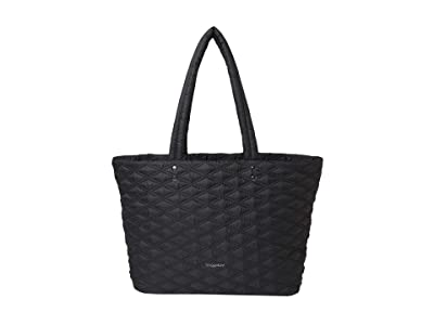 Baggallini Quilted Tote (Black) Handbags