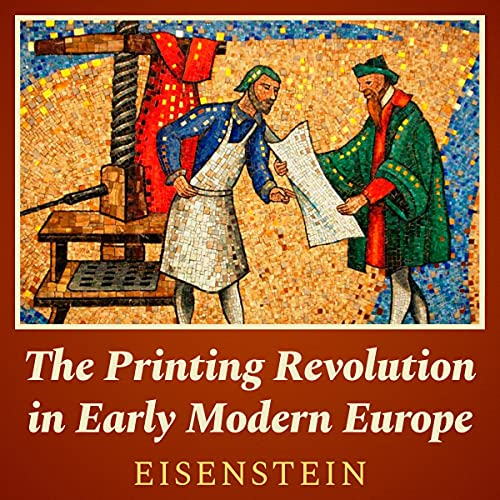 『The Printing Revolution in Early Modern Europe』のカバーアート
