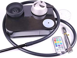Acrylic Hookah Kit Set Portable Hookah Shisha with Silicone Bowl+Hose+Charcoal Holder..