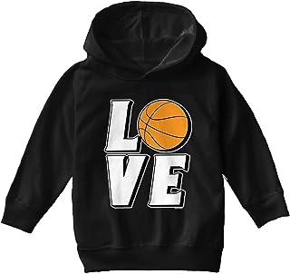 Love Basketball - Sports Hoops Toddler/Youth Fleece Hoodie