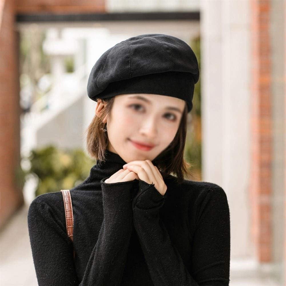 TWDYC Ladies Vintage Beret Hat Autumn Winter Hats for Women Elegant Artist Painter Hat Beret Women's Hats (Color : C)