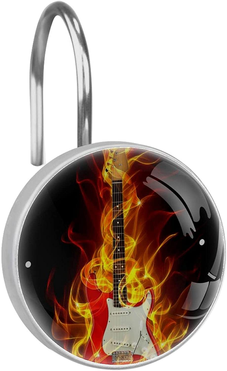 Reservation Stainless Steel Anti-rustDecorative Hanger Burning M Max 72% OFF Guitar Ring