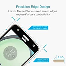 HHM For Motorola Moto Z Play 0.26mm 9H Surface Hardness 2.5D Full Screen Tempered Glass Screen Protector(Black) (Color : Black)