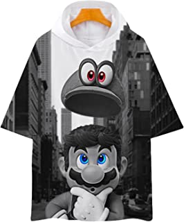 Meiyanfen Sonic The Hedgehog Hoodie T Shirts Summer Tops Tee Shirts for Boys Girls