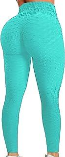 Pau1Hami1ton Leggins Mujer, Mallas Fitness Push Up Pantalones Deporte Running Yoga GP-11