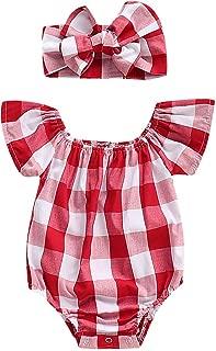 Summer Newborn Kids Baby Girls Cute Stripe Tassels Romper Bodysuit Jumpsuit Clothes Outfits