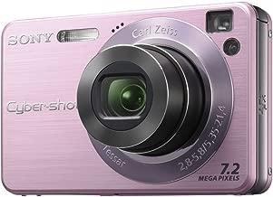 Sony Cyber-Shot 7.2MP 4x 3072x2304 Opt 2.5in LCD Digital Camera Pink DSCW120P DSC-W120/P