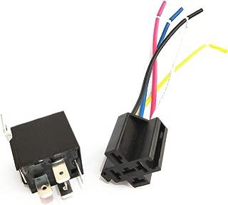 MXECO 1 Voie avec Module de Relais de lumi/ère 3.3v Module de contr/ôle de la luminosit/é de la Carte Relais de d/étection de lumi/ère Bleu
