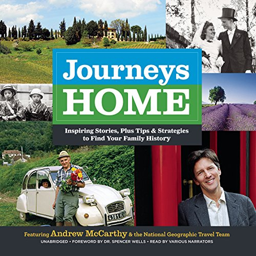 Journeys Home audiobook cover art