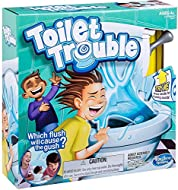 Hilarious game for kids and families Flush but watch out for random spray of water Funny toilet flushing sound effects