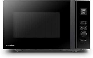 Toshiba 800 w 20 L Microwave Oven with 12 Cooking Presets, Upgraded Easy-Clean Enamel Cavity, Weight/Time Defrost, and Tur...