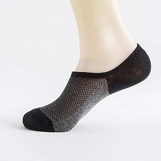 calcetín Calcetines Deportivos Transpirables de Malla de Moda Unisex Calcetines Antideslizantes Invisibles absorbentes de Sudor Calcetines Deportivos de Verano para Hombres