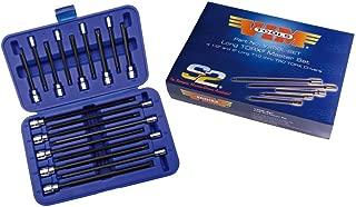 """Vim Tools VIMV458L-SET Long Torx Master Set, Long T10 TRU T50, 4.5"""""""