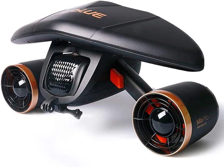 Scooter subacqueo per immersioni whiteshark sublue - scooter mare B08G84KX5K