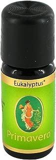 PRIMAVERA Ätherisches Öl Eukalyptus globulus bio 10 ml - Aromaöl, Duftöl, Aromatherapie - stärkend, befreiend, vitalisierend - vegan