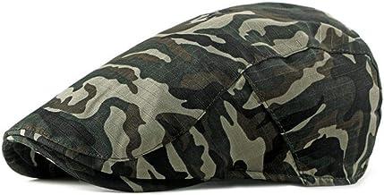 Casual Camouflage Baret Hoeden Voor Mannen Vrouwen Vooruit Cap Baret Cap Lente Zomer Platte Piek Caps Vizier Volwassen