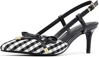 e77f7bf5c6 Amazon.es: cuadros blanco y negro - Zapatos de tacón / Zapatos para ...