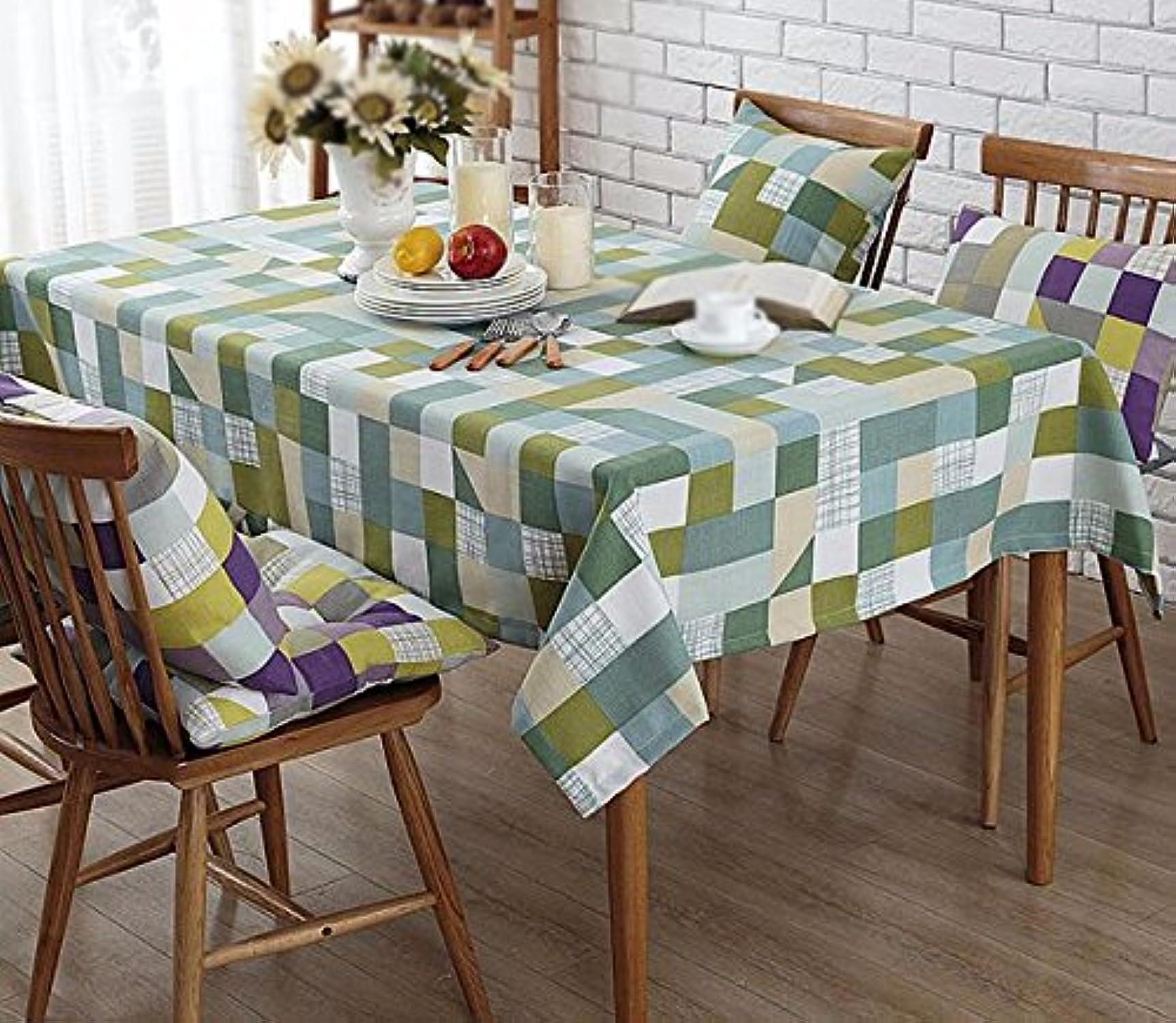 diseñador en linea WFLJL WFLJL WFLJL mantel Estilo Americano el algodón y el Lino Rurales Floral Fresco pequea Mesa de Comedor verde 90  140cm  Seleccione de las marcas más nuevas como