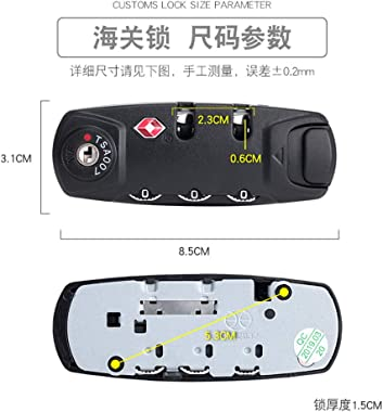 Set of A Pair S011# Type Password Lock Replacement suitcases/Luggage Lock for Suitcase Pull Rod Box Trunk Box DIY