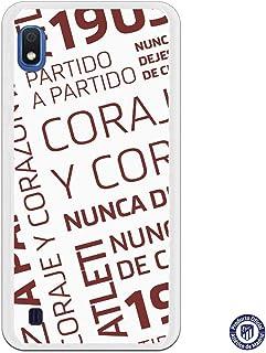 a6feef2e0a7 Funda Oficial Atlético de Madrid Coraje y corazón para Samsung Galaxy A10