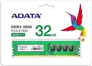 ADATA DDR4-2666MHz デスクトップPC用 メモリモジュール Premierシリーズ 16GB×2枚キット AD4U2666316G19-DA