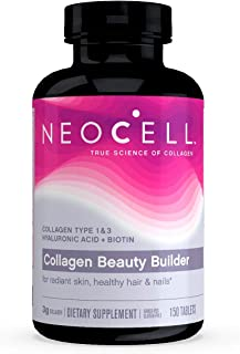 NeoCell - Collagen Beauty Builder - BioActive Collagen Type 1&3 + Alpha Lipoic Acid and Biotin Promotes Radiant and Hydrat...