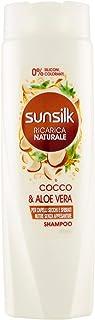 SUNSILK RICARICA NATURALE Cocco & Aloe Vera, Shampoo, 250 ml