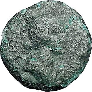 1000 IT FAUSTINA II Marcus Aurelius Wife Roman Coin Thess coin Good