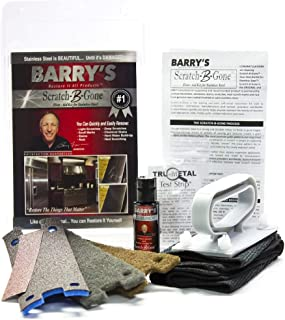 Best stainless steel refinishing kit Reviews