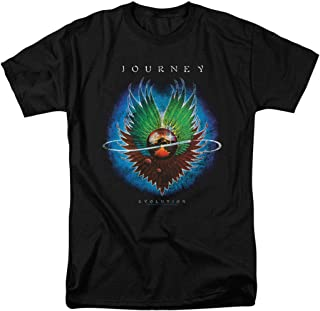 Journey Evolution Album Steve Perry Band T Shirt & Stickers