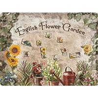 フラワー ガーデン English Flower Garden/マグネットボード(マグネット付)