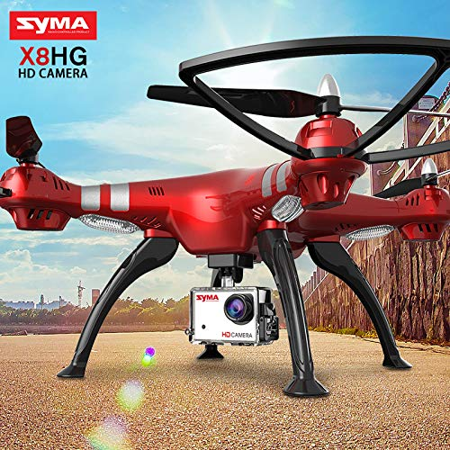 LanLan SYMA Drone profissial X8HG (Mise à Niveau X8G) Drone...