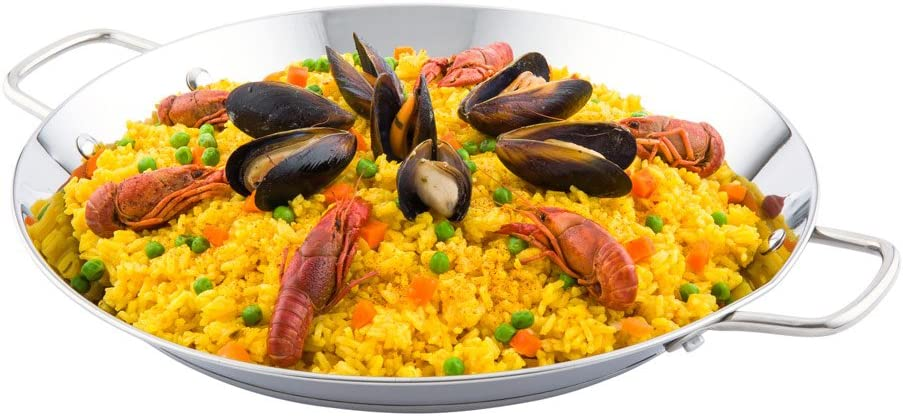 13.5 List price Direct sale of manufacturer Inch Spanish Paella Pan 1 - Induction Hea Ready