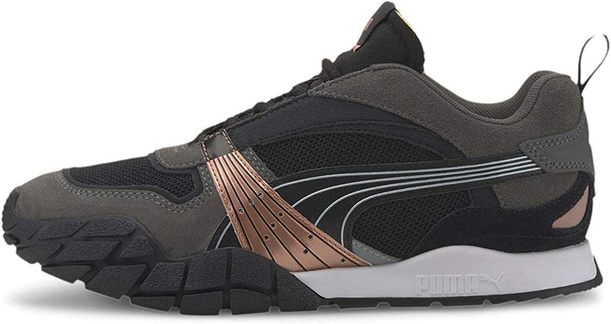 PUMA Womens Kyron Wild Beasts Lace Up Sneakers Shoes Casual - Black