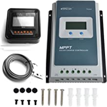 EPEVER Upgraded 30A MPPT Solar Charge Controller Tracer A 3210AN + Remote Meter MT-50 Solar Charge With LCD Display for Gel Sealed Flooded Lithium Solar Battery Charging-Negative Grounded