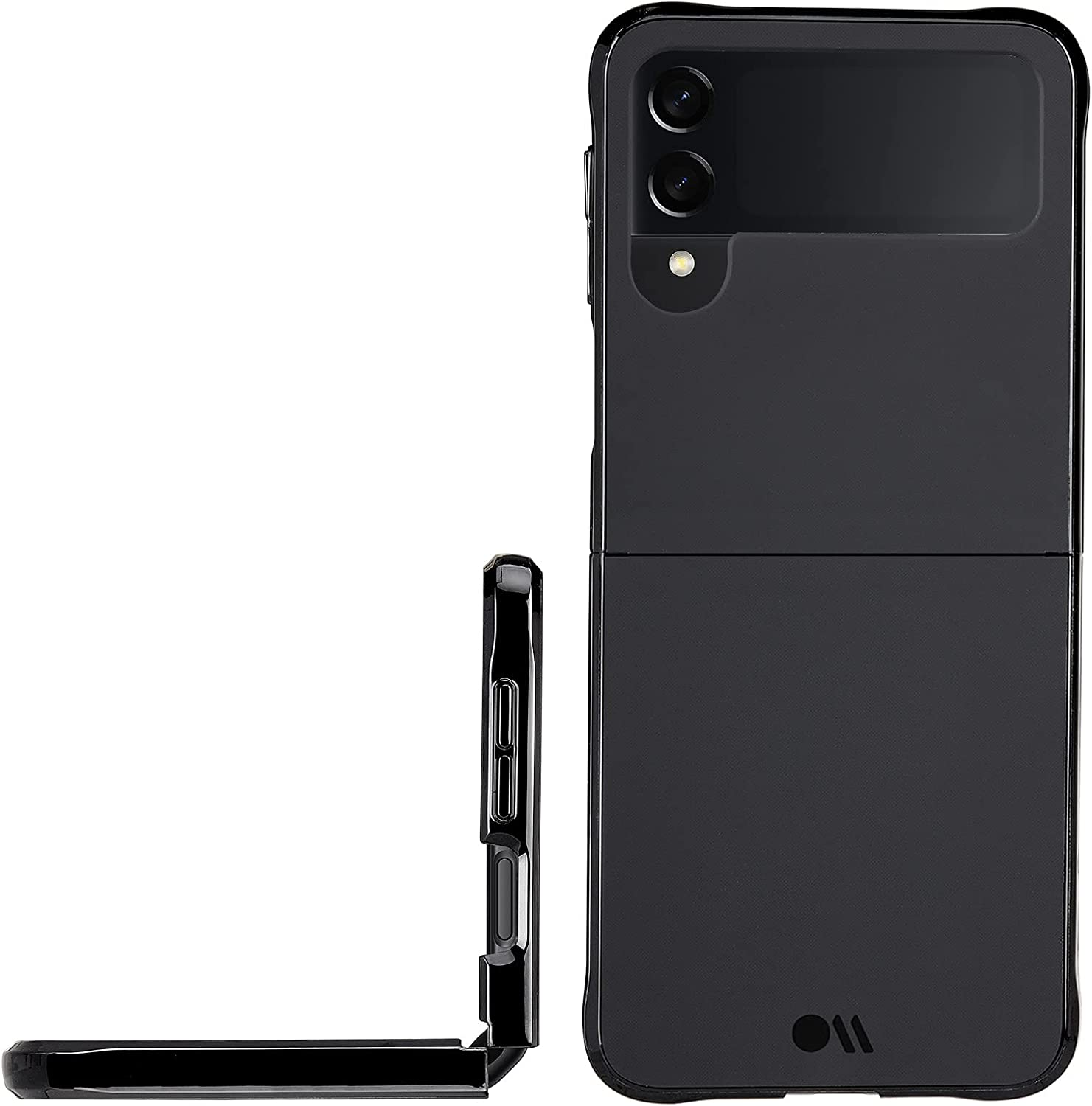 Case-Mate - Tough - Case for Samsung Galaxy Z Flip 3 5G - 10 ft Drop Protection - 6.5 inch - Black