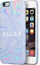 Maceste Trippy Tie Dye Rainbow Acid Relax Compatible with iPhone 6 Plus/iPhone 6S Plus SnapOn Hard Plastic Phone Protective Carcasa Cubierta Case Cover