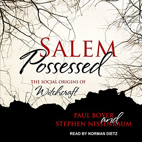 Salem Possessed audiobook cover art