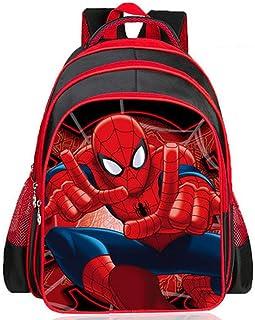Bag Set Mochila para Niños Spider-Man Mochilas Escolares Escuela Primaria Mochila Niño De Dibujos Animados Niño De 6 A 11 Años Bolsa De Libros De Jardín De Infantes 5