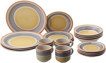 Harmony Stoneware Dinner Set - 20 Pieces