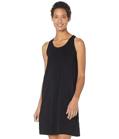 Eileen Fisher Racerback Tank Dress in Organic Cotton Stretch Jersey