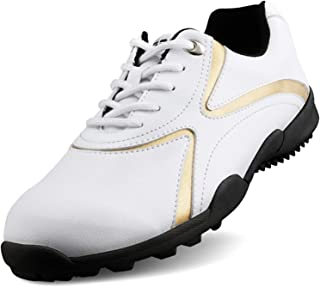 YAO Mens Golf Shoes Men's Leisure Section Fixed Nail Waterproof And Breathable Boys Sports Shoes