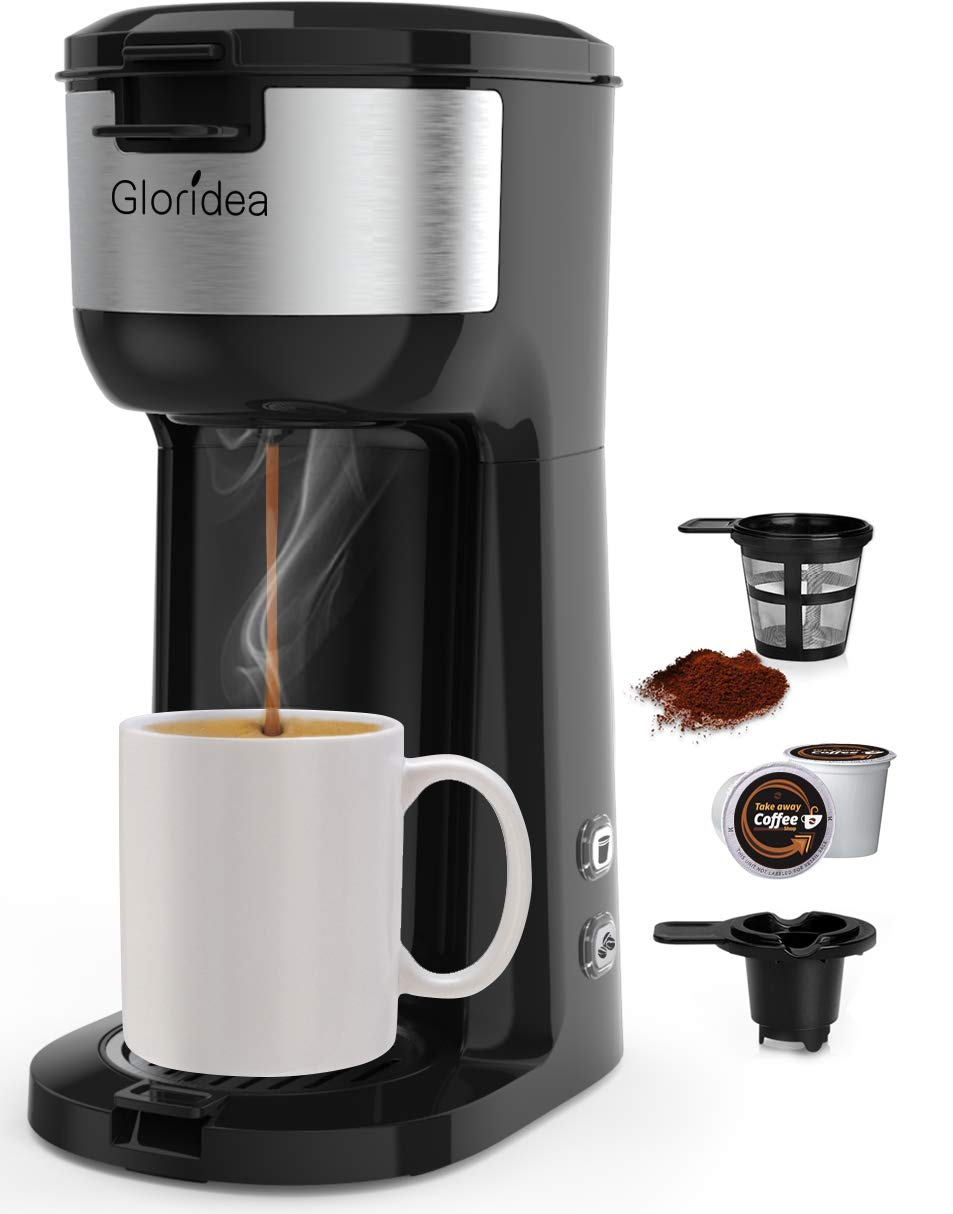 Coffee Maker Individual Portable Strength