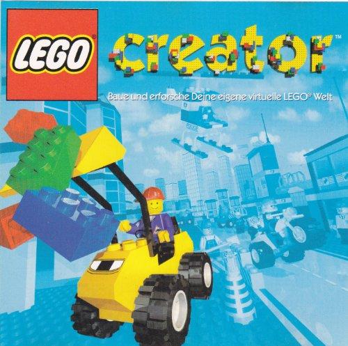 LEGO Creator, 1 CD-ROM Baue und erforsche Deine eigene virtuelle LEGO-Welt. Für Windows 95/98
