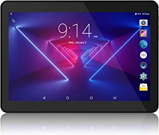 Lectrus Tablet 10 inch Android Version, Quad-Core 1.3GHz, 5G WiFi Tablets PC with Dual Cameras, 800x1280 Touch Screen Full...