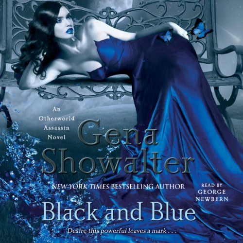 Black and Blue audiobook cover art