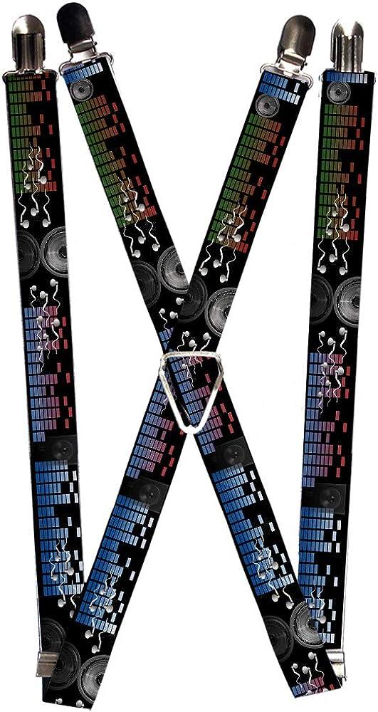Buckle-Down Suspender - Sound Waves